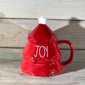 Rae Dunn JOY Christmas Tree Mug NWT 🎄
